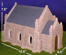 The Gothic Church Building Painting Instructions