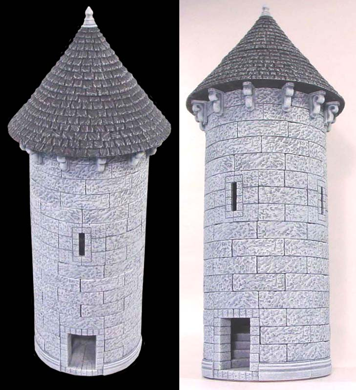 The Circular Tower Building Amp Painting Instructions