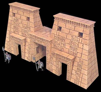 Egyptian Pylon Temple