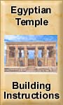 Egyptian Temple Building & Painting Instructions