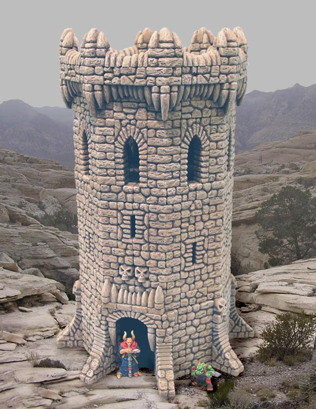 Building With Fieldstone : Fieldstone octagon tower building instructions