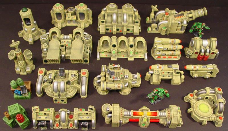 Compra conjunta moldes de Hirst Arts Mach200