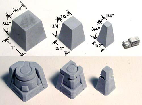 Moule Hirst Arts pour un bâtiment 6mm Starf04