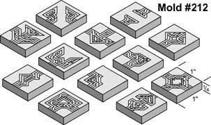 Buying Hirst Arts Molds 212