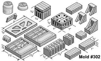 Buying Hirst Arts Molds 302