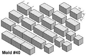 table Frostgrave / moule plâtre 40