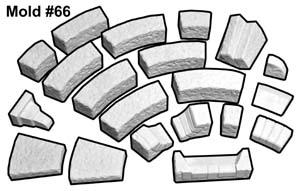 table Frostgrave / moule plâtre 66