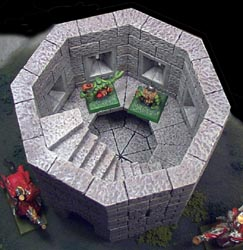 Building The Octagon Tower