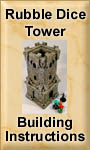 Rubble Dice Tower Building Instructions