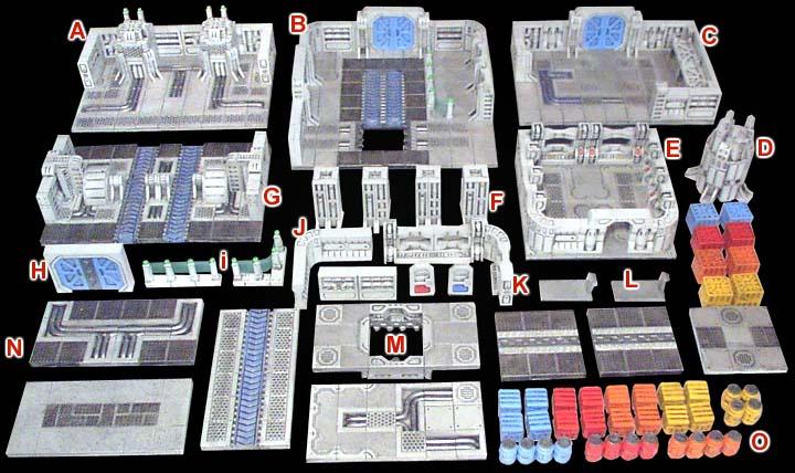 Compra conjunta moldes de Hirst Arts Scifi228
