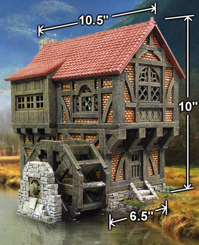 Watermill Building Instructions