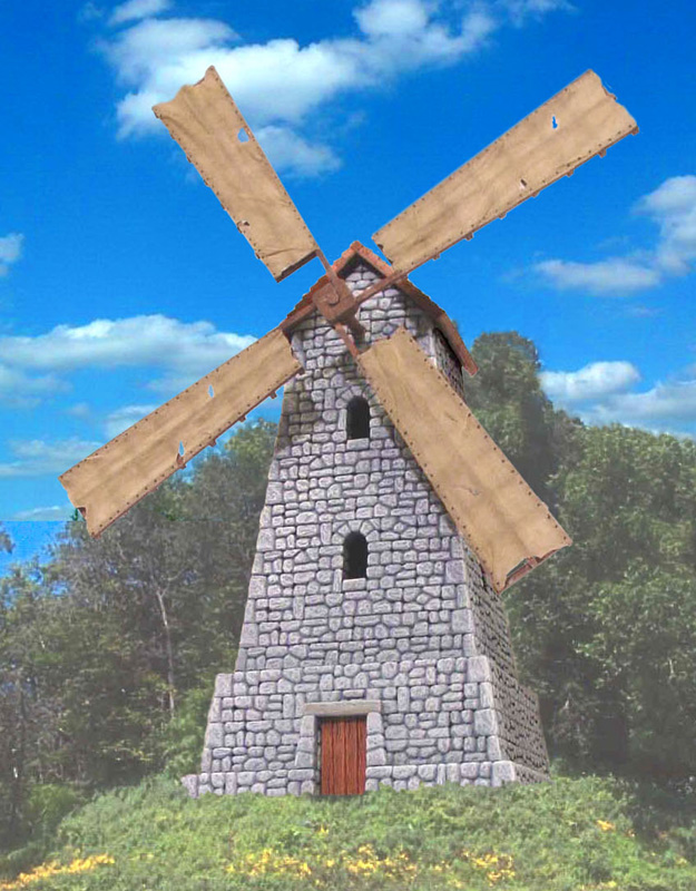 Image Gallery windmill
