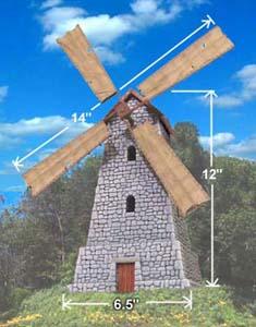 [Décors] Temples Aztechs - Page 4 Windmill002